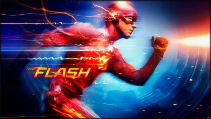 the flash running