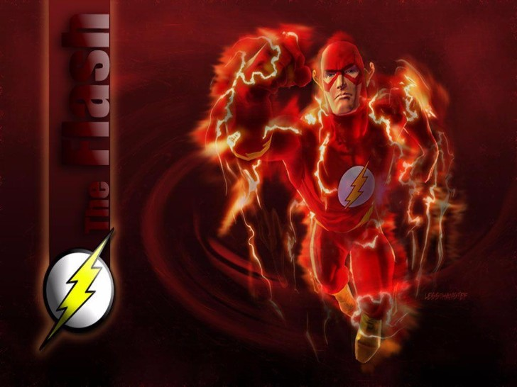the flash super fast