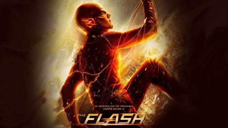 The Flash tv show wallpaper