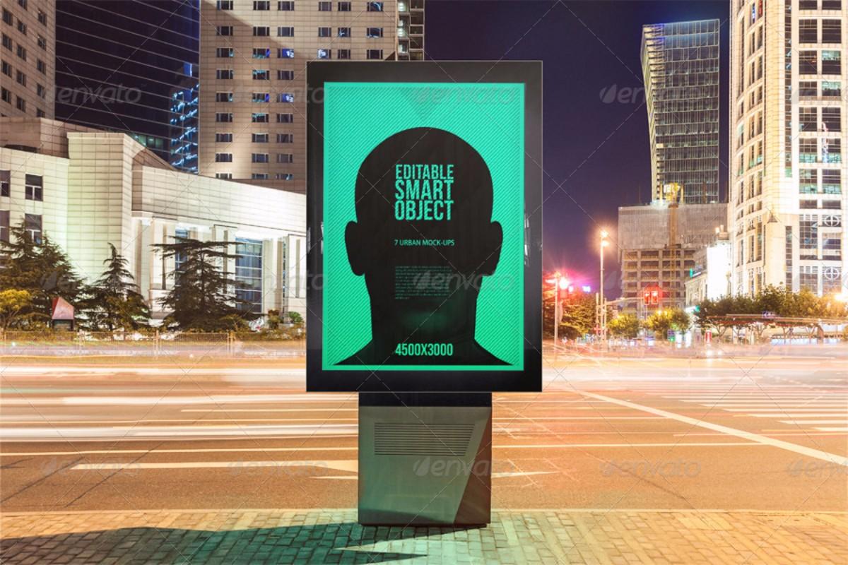 Urban Poster Billboard Mockups