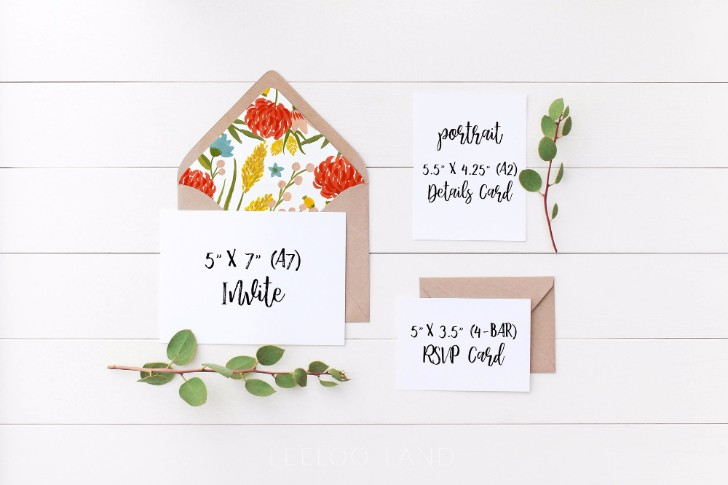 Wedding Suite Mockup Manzanita S6