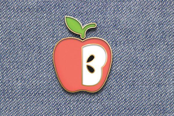 Enamel Pin Mockup PSD Designs