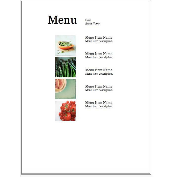 Event-menu-Simple-design