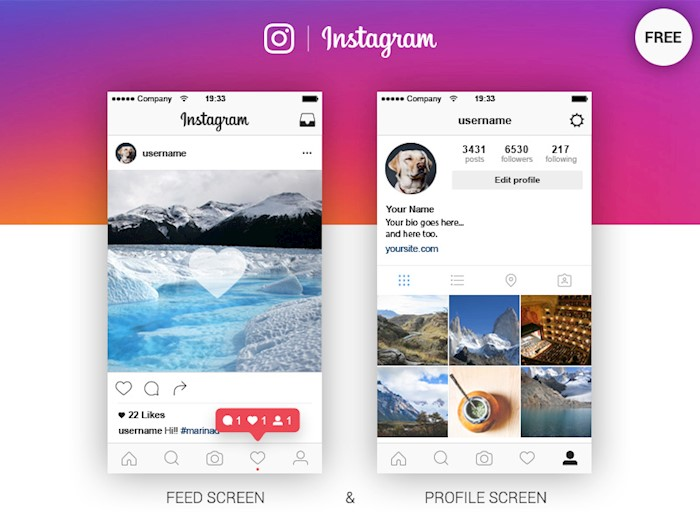 Instagram-Feed-Profile-Screen-Free-Ai