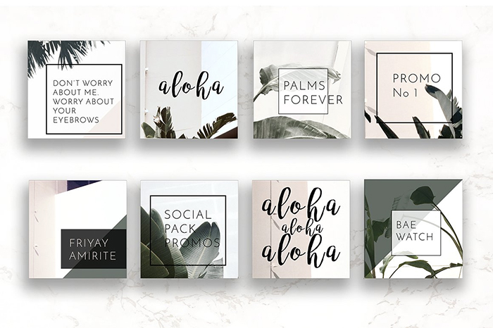 Pack-Instagram-Social-Palm-Layouts