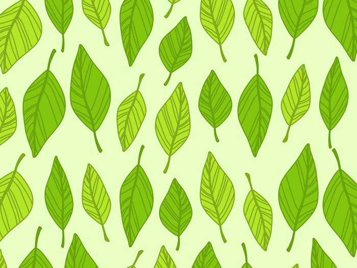 Spring-Patterngreen
