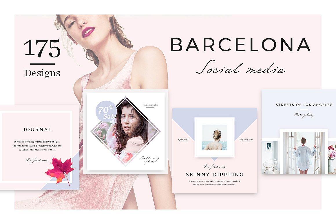 Barcelona Social Media Bundle