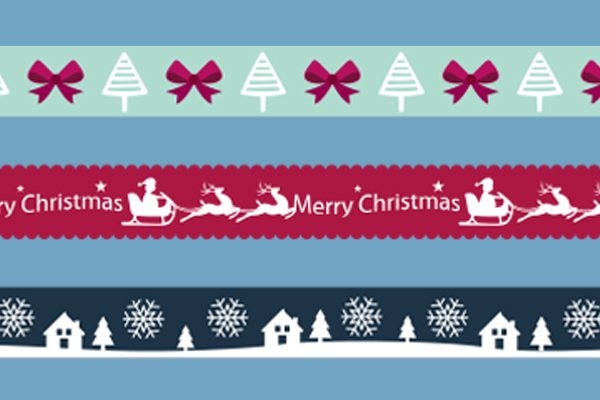 free christmas border cliparts