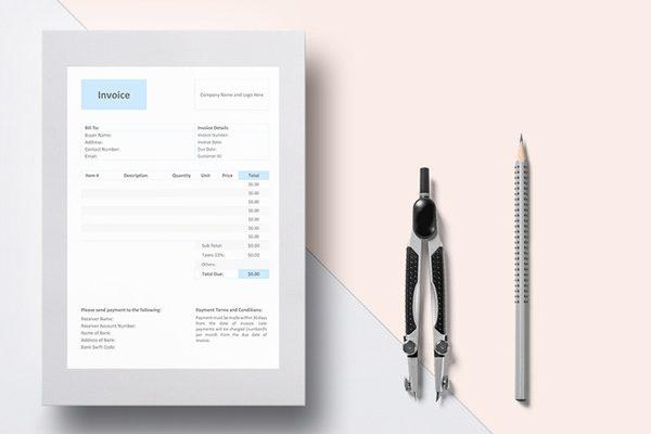 Contractor Invoice templates