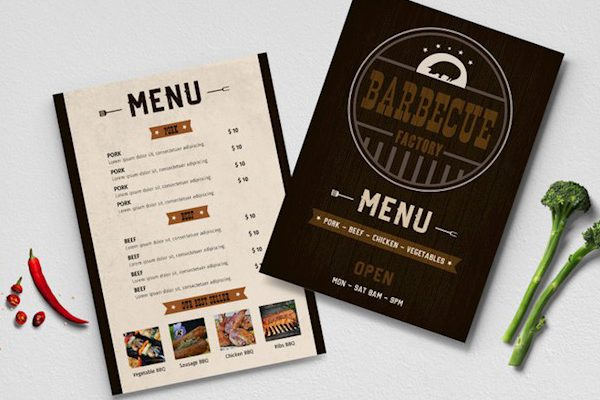 Free Restaurant Menu Templates for Word