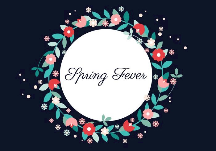 free-vector-spring-flower-wreath