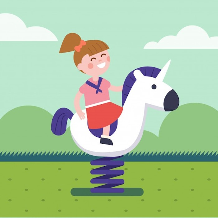 girl-riding-a-spring-horse-ride-at-park-playground_3446-482