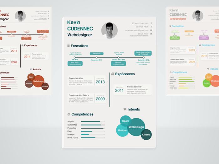 infographics-resume