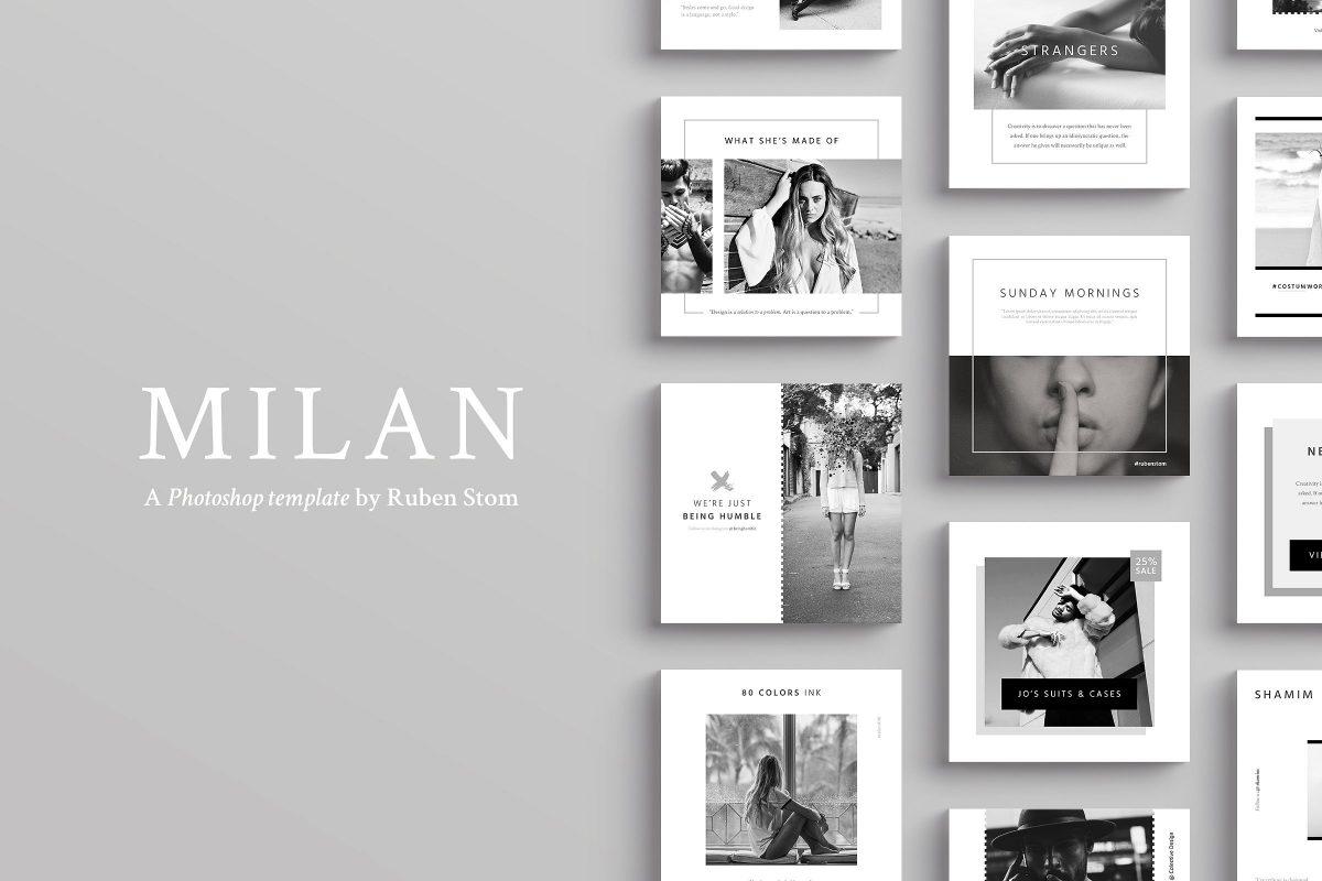 Milan Social Media Pack