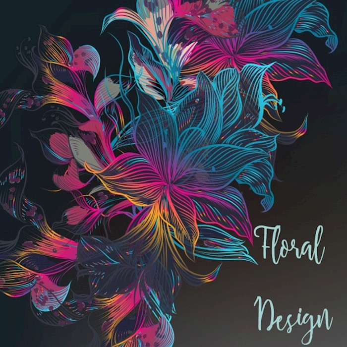 multicolor-floral-design