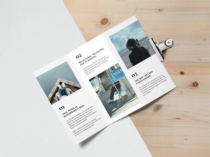 open-tri-fold-brochure-mockup