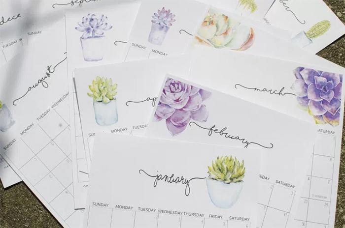 plants-printable-calendar