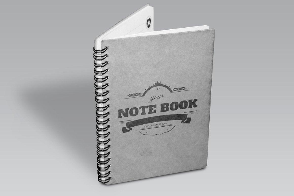 Premium Notebook MockUp