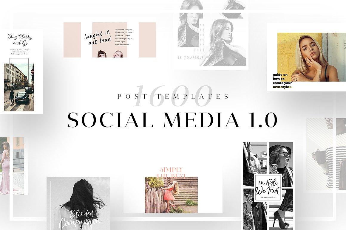Social Media Template Bundle
