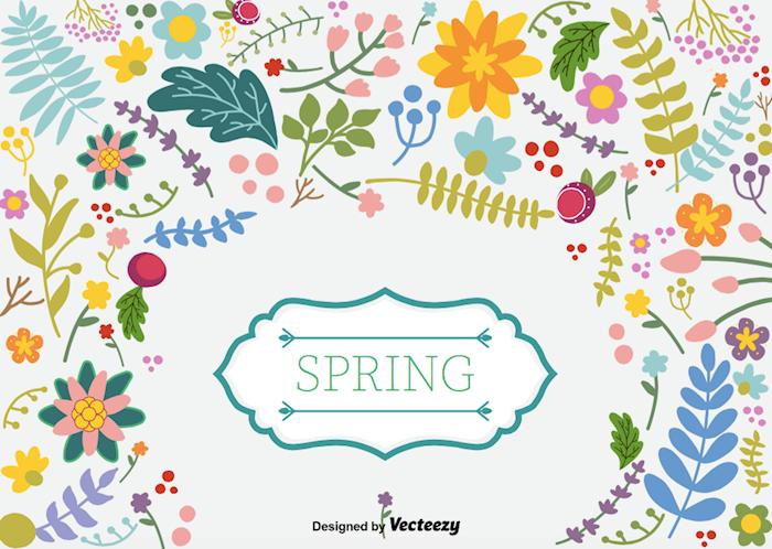 spring-floral-vector-background