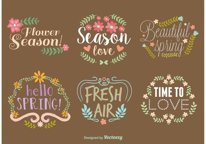 spring-vector-typography-wreaths