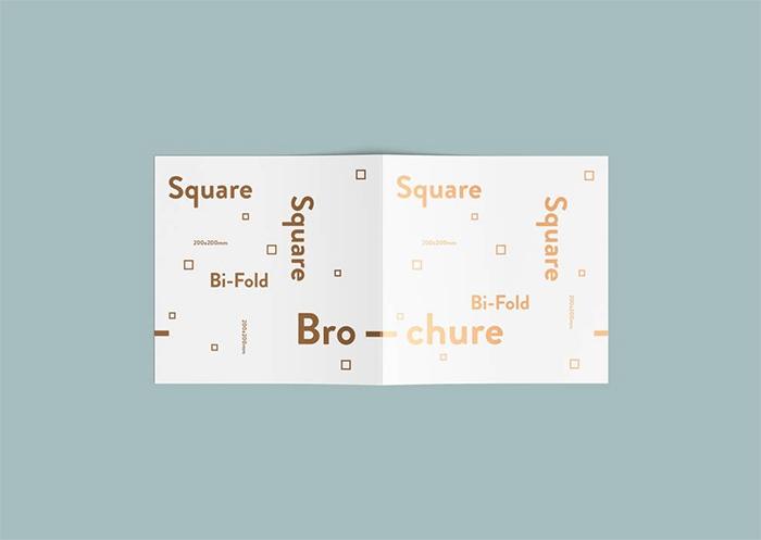 square-bi-fold-brochure-mockup