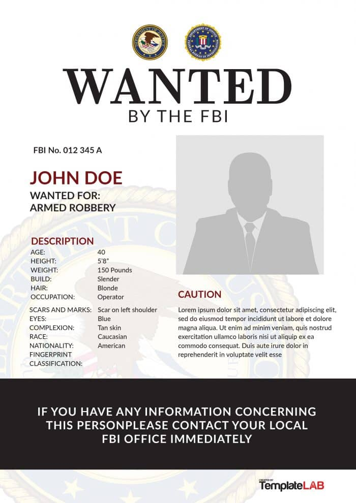 25 free wanted poster templates photoshop pdf google docs word. Black Bedroom Furniture Sets. Home Design Ideas