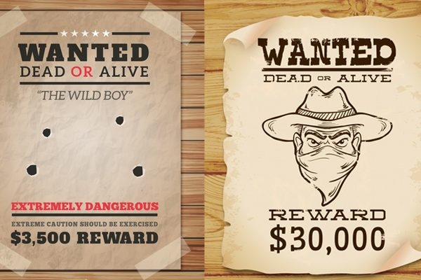 Free wanted poster templates for word