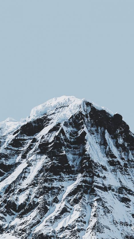Snow Mountain iPhone Wallpaper