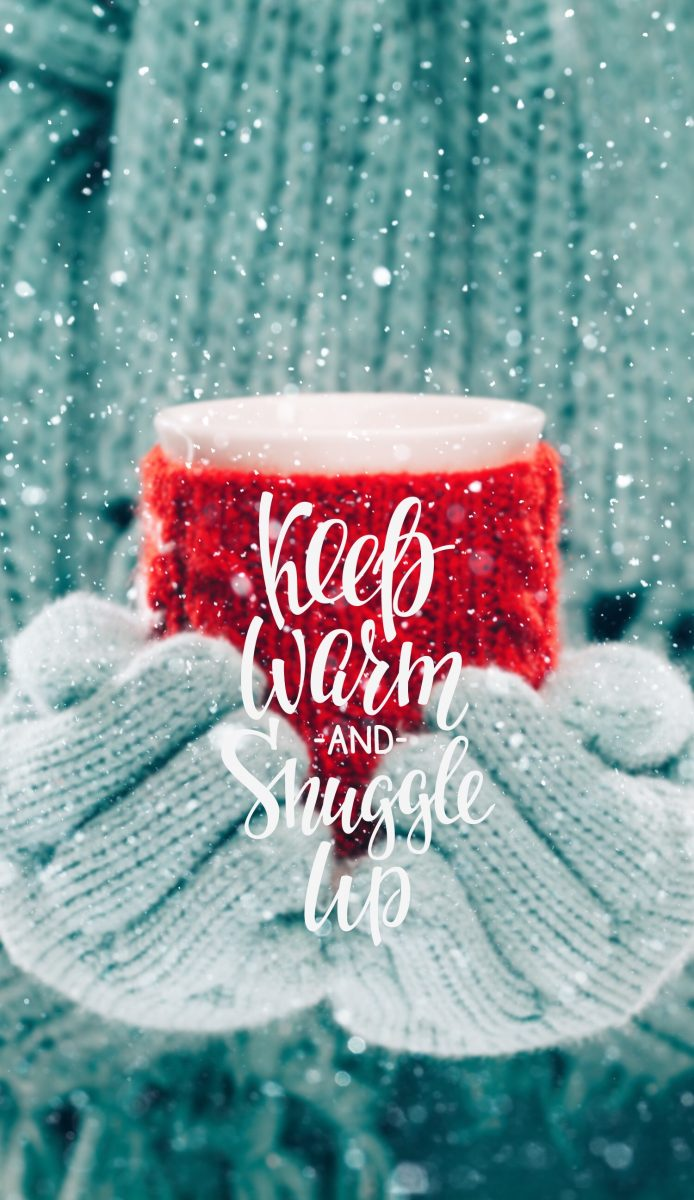 Keep warm iPhone background