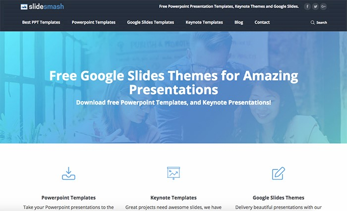 50 best free powerpoint templates for presentations mashtrelo just go to the powerpoint section of the menu and youll see various collections of templates such as best business marketing clean mind map wajeb Image collections