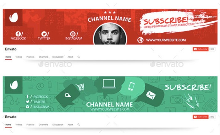 colorful--youtube-banners-premium