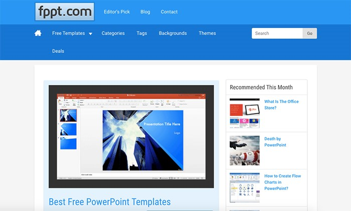 50 best free powerpoint templates for presentations updated you can download any template without registration in a zip file besides you can use tags to find what you need toneelgroepblik Images