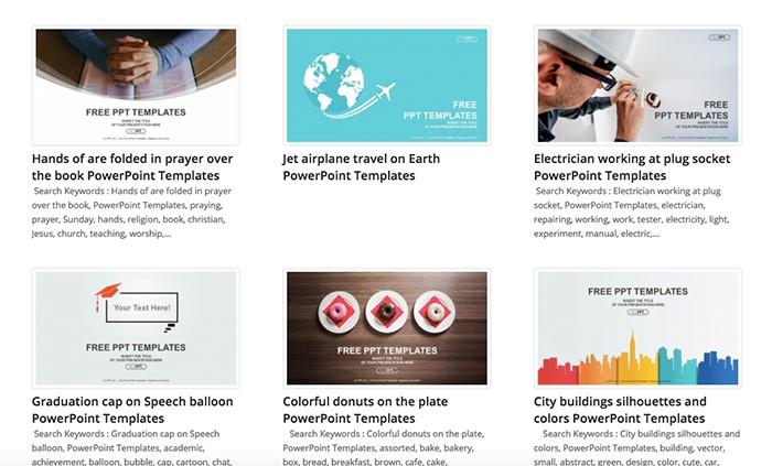 50 Best Free Powerpoint Templates For Presentations Updated