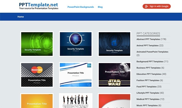 free powerpoint templates: 20 best sites to download presentations, Modern powerpoint