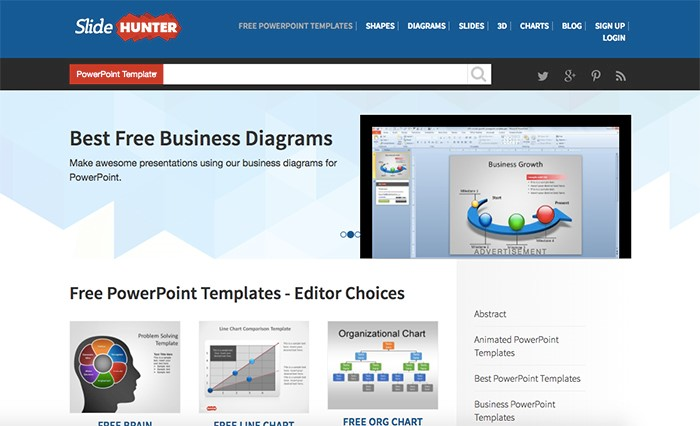 50 best free powerpoint templates for presentations mashtrelo slide hunter flashek Images