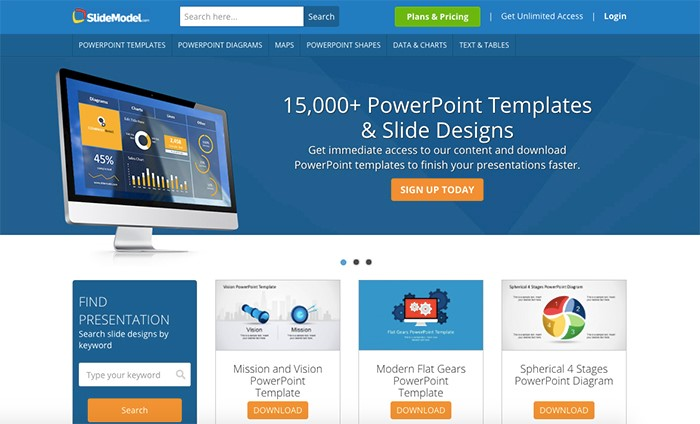 50 best free powerpoint templates for presentations mashtrelo slidesmodel wajeb Gallery