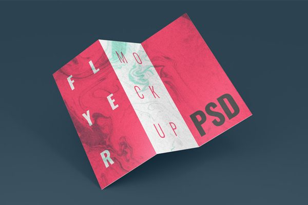 Tri Fold Brochure Mockups