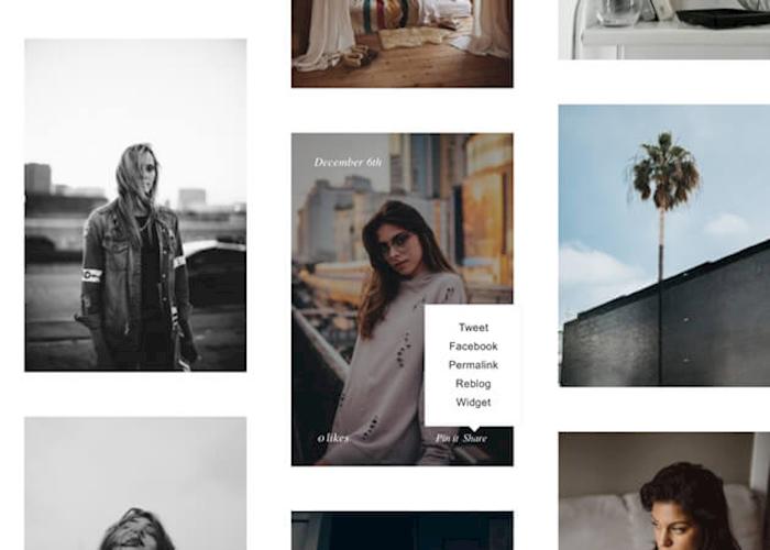 33 clean amp minimalist tumblr themes xdesigns - 630×450
