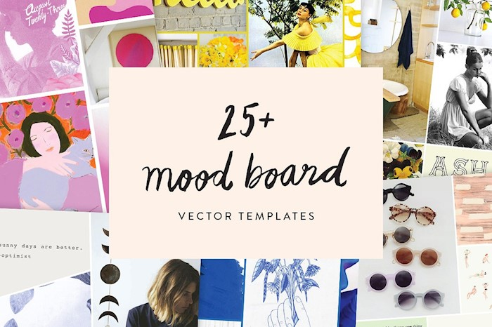 20 amazing brand board templates for your blog