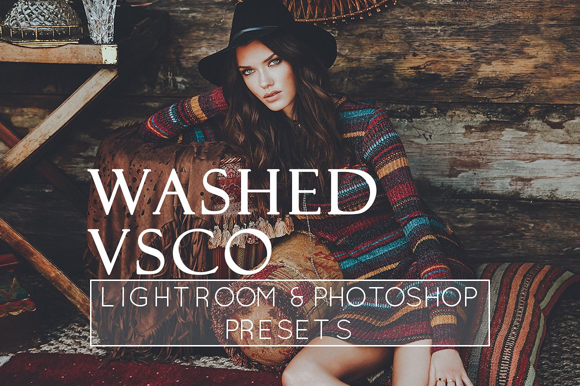 3 Faded VSCO Style Lr Ps Presets