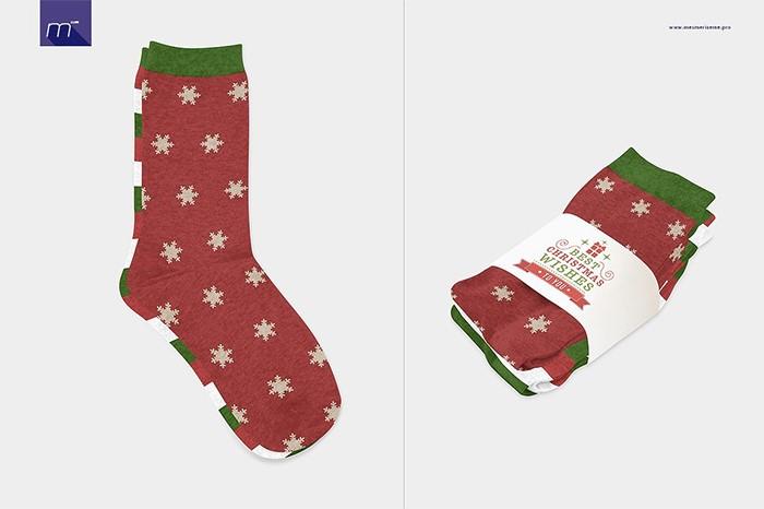 Melange-Socks-Mock-up