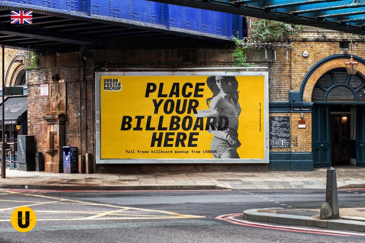 Billboard Poster Mockup