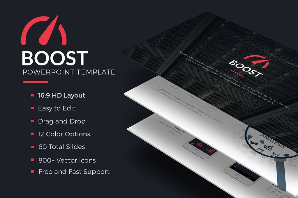 Boost Powerpoint Template