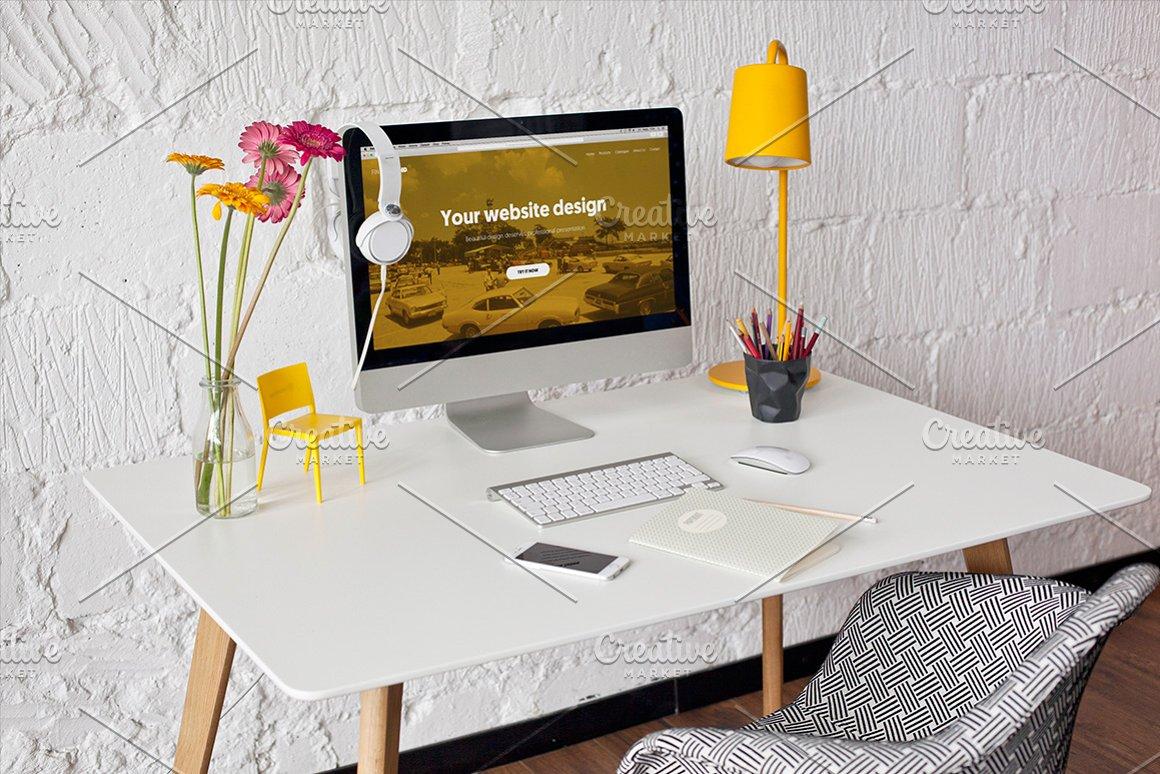 iMac 10 photo mockups