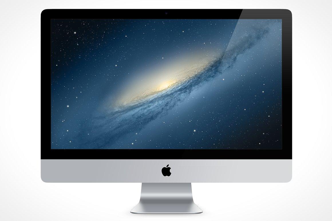 iMac Front View MockUp