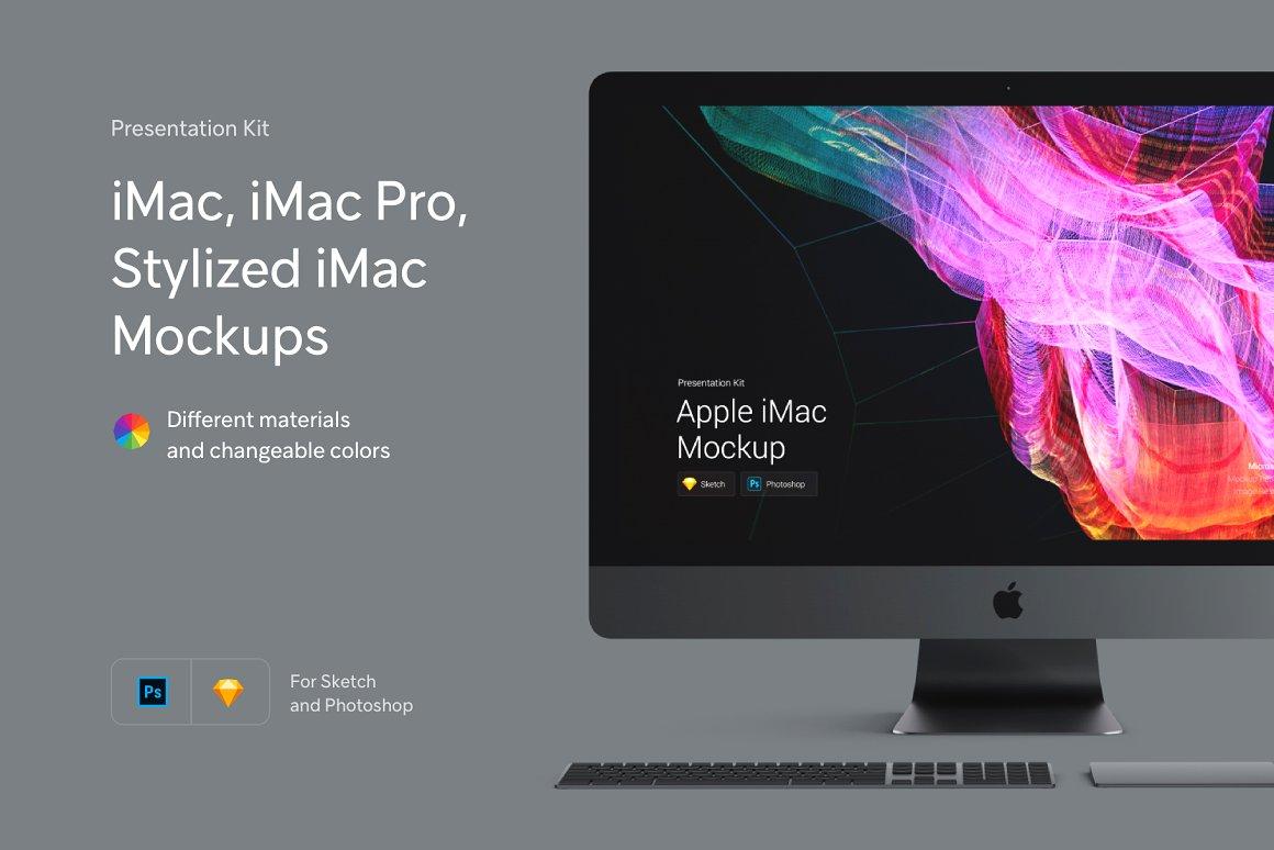 iMac Pro iMac Stylized iMac Mockup
