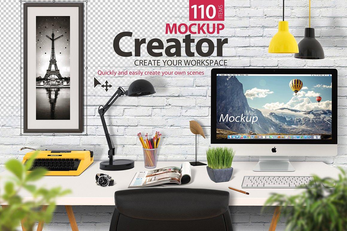 Mockup Creator Scene Creator