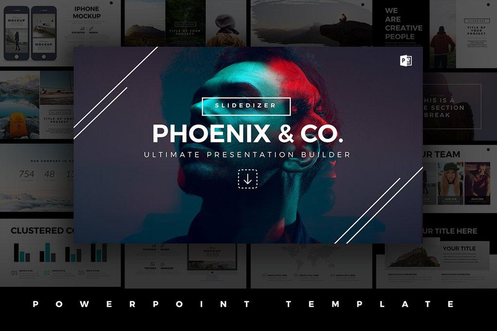 Phoenix Minimal Powerpoint Template