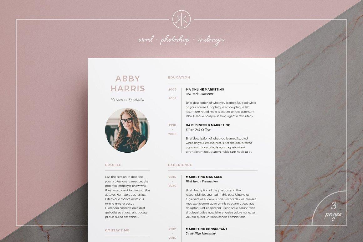 Resume CV Abby